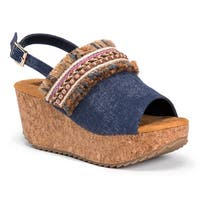 MUK LUKS® Women's Marion Wedge Sandals