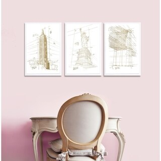 Oliver Gal ' NYC Landmarks Set of 3'Art