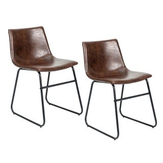Porthos Home Modern Dining Side or Desk Chair,Easy Assembly (Set of 2)