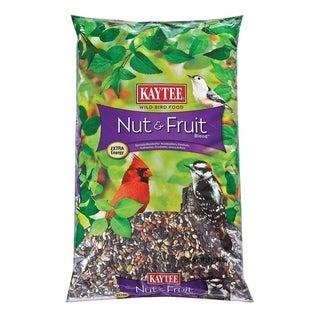 Kaytee Nut & Fruit Assorted Species Wild Bird Food Fruits and Nuts 10 lb.