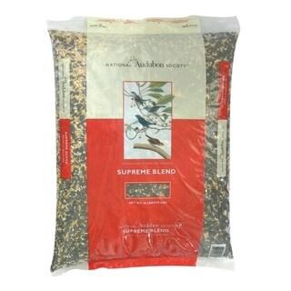 National Audubon Society Supreme Blend Assorted Species Wild Bird Food Sunflower Seeds 20 lb.