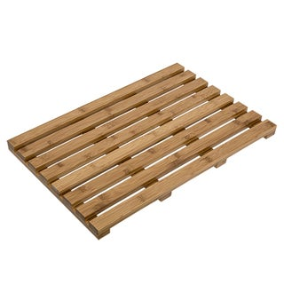 Honey-Can-Do Bamboo Bath Mat (15x24)