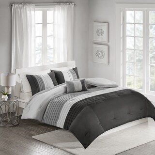 510 Design Careen Black 4-piece Comforter Set