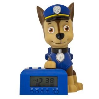 Bulb Botz Kid's Paw Patrol Chase Night Light Alarm Clock