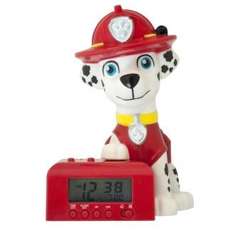 Bulb Botz Kid's Paw Patrol Marshall Night Light Alarm Clock