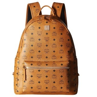 MCM Stark Medium Cognac Backpack