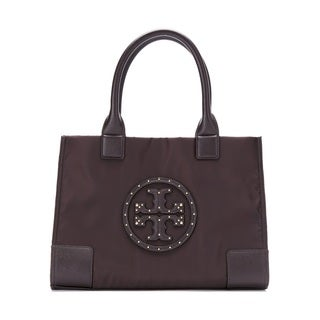 Tory Burch Stud Mini Ella Stud Logo Tote Bag