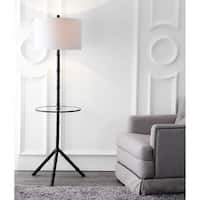 "Hall 62"" Metal LED End Table Floor Lamp, Bronze"