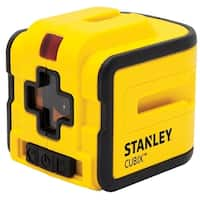 Stanley  1  Cross Line Laser  Self Leveling 0.2 in.