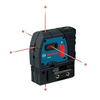 Bosch 5 Self Leveling Alignment Laser Self Leveling 0.3 in. per 100 ft.