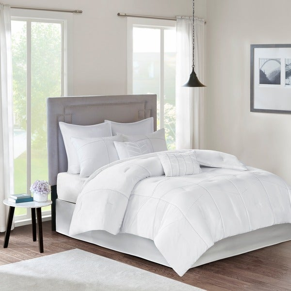 510 Design Talley White 8-piece Comforter Set