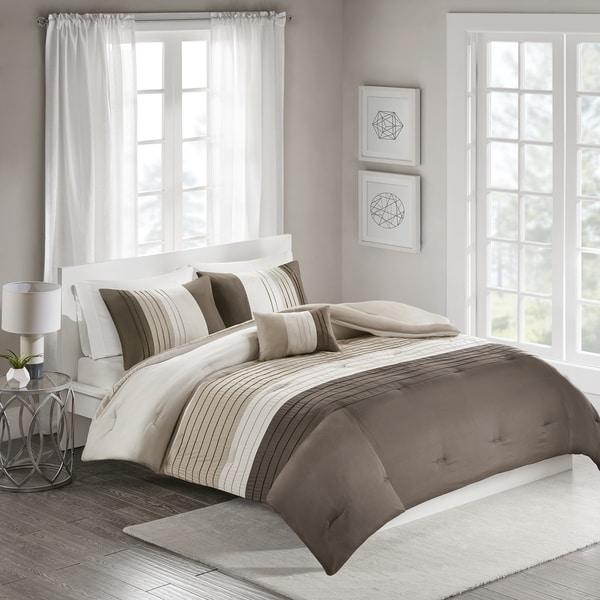 510 Design Careen Neutral 4-piece Comforter Set