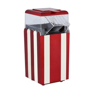 Brentwood Striped Red Table Top Pop Corn Maker