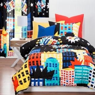 Link to Learning Linens Be Super Microfiber 3-piece Comforter Set Similar Items in Kids Comforter Sets