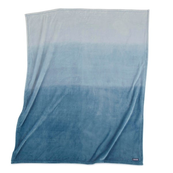 IZOD Ombre Blue Throw. Opens flyout.