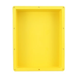 "Ready For Tile Waterproof Leak Proof 16"" x 20"" Square Bathroom Recessed Shower Niche - Flush Mount Installation"