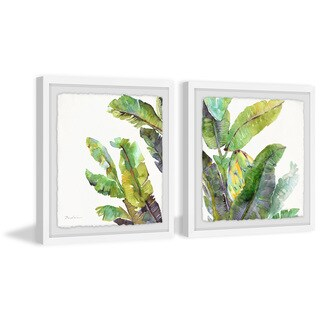 Oh Banana Leaves II Diptych (More options available)