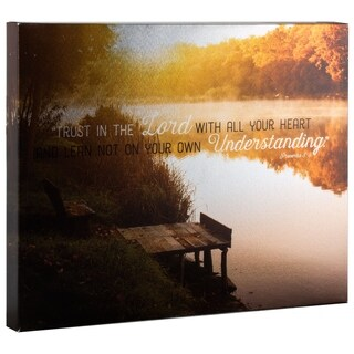 American Art Decor Trust in the Lord Religious Inspirational Canvas Print