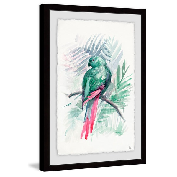 Blissful Bird\' Framed Painting Print - Free Shipping Today ...
