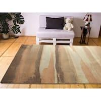 "RugSmith Blush Sand Contemporary Modern Area Rug, 7'6"" x 9'6"" - 7'6"" x 9'6"""