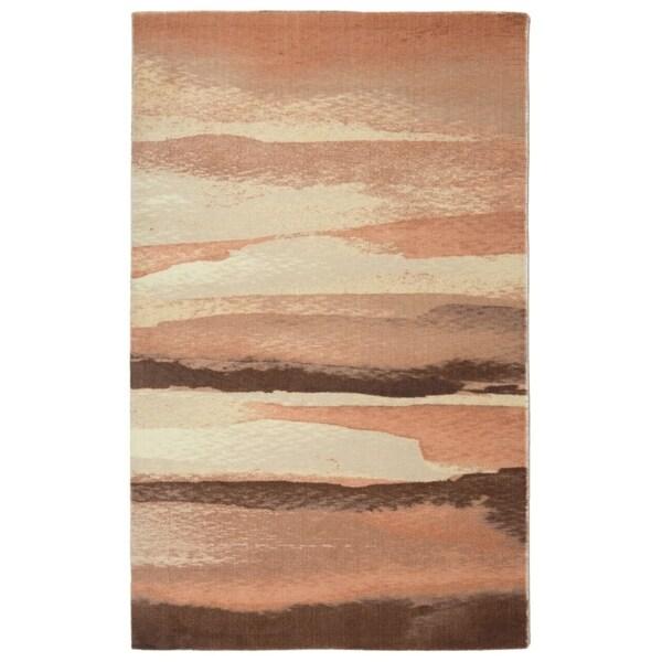 "RugSmith Blush Sand Contemporary Modern Area Rug - 7'6"" x 9'6"""