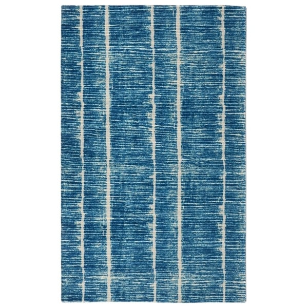 "RugSmith Blue Tango Contemporary Modern Area Rug - 7'6"" x 9'6"""