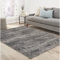 "RugSmith Grey Traffic Contemporary Modern Area Rug - 7'6"" x 9'6"""