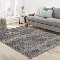 "RugSmith Grey Traffic Contemporary Modern Area Rug, 7'6"" x 9'6"" - 7'6"" x 9'6"""