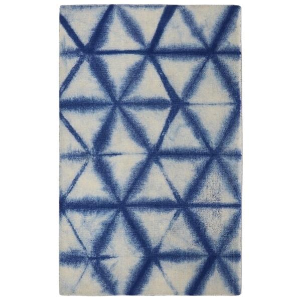 "RugSmith Denim Speckle Diamond Contemporary Modern Area Rug - 7'6"" x 9'6"""
