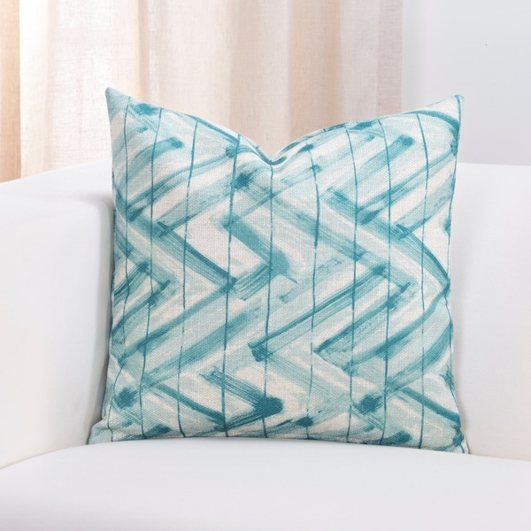 Siscovers Zephyr Designer Throw Pillow with Removable Cover