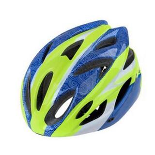 Bike Helmet (Option: Green/Blue)