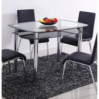 Best Master Furniture T06 Dining Table - Black