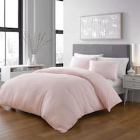 Shop Rebecca Allen Blush Marble Duvet Cover On Sale