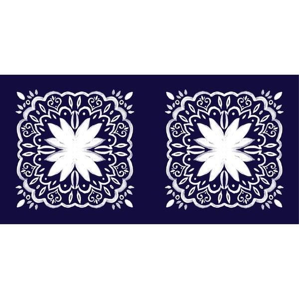 Shop X Inch Cuban Tile Geometric Print Outdoor Pillow On - Cuban tile for sale