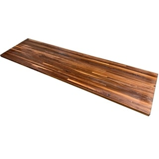 """Forever Joint Walnut 26"""" x 84"""" Butcher Block Top"""