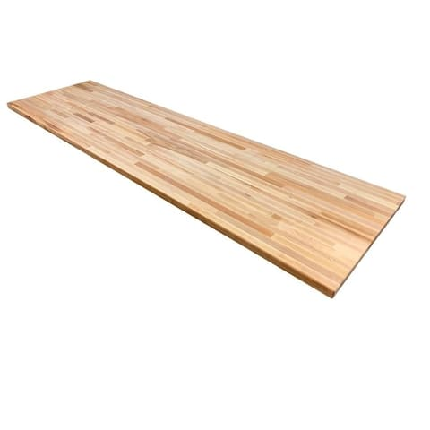 """Forever Joint Hard Maple 26"""" x 84"""" Butcher Block Top"""
