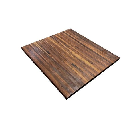 "Forever Joint Walnut 36"" x 36"" Butcher Block Top"
