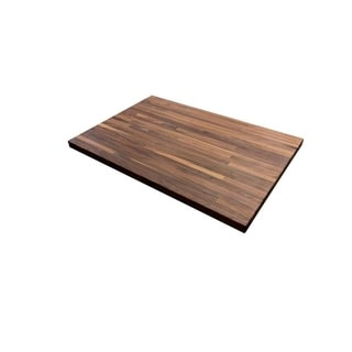 """Link to Forever Joint Walnut 26"""" x 50"""" Butcher Block Top Similar Items in Dining Room & Bar Furniture"""