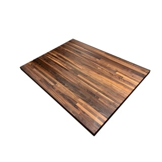 "Forever Joint Walnut 36"" x 48"" Butcher Block Top"