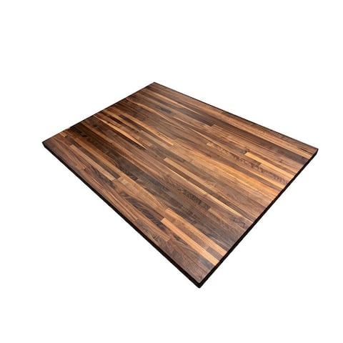 """Forever Joint Walnut 36"""" x 48"""" Butcher Block Top"""