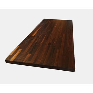 """Forever Joint Walnut 36"""" x 60"""" Butcher Block Top"""