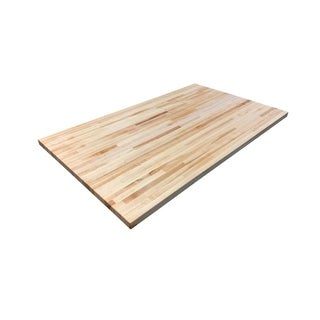 """Forever Joint Hard Maple 36"""" x 60"""" Butcher Block Top"""
