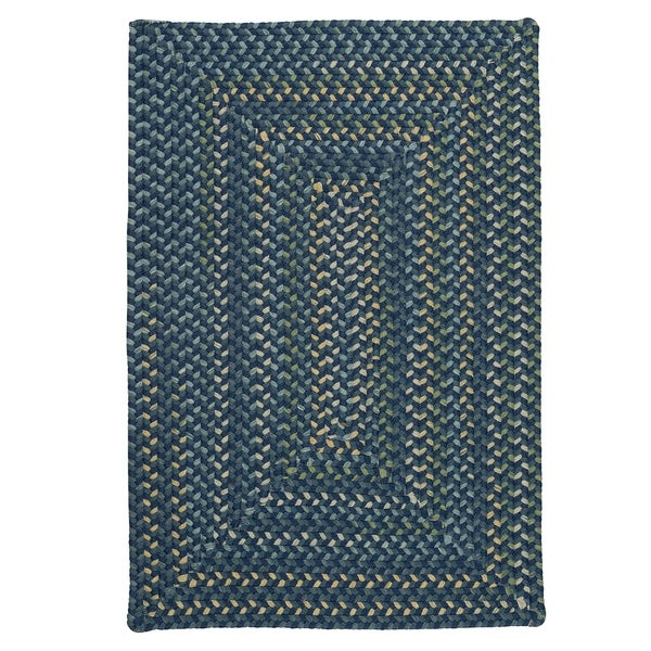 Colonial Mills Mayflower Whipped Blue Area Rug - 8' x 10'