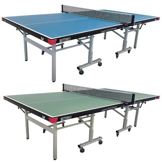 Butterfly Easifold DX 22 Table Tennis Ping Pong Table with Net Set - 10 Minute Assembly - 3 Year Warranty (Option: Green)