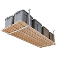 Hyloft  Ceiling Storage Rack  30 in. L x 24-34 in. H x 26 in. W