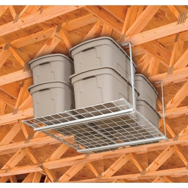 Hyloft Steel Ceiling Storage Unit 36 In. L X 24 In. H X 27