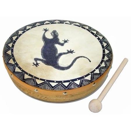 Handmade Frame Drum Gecko (Indonesia)