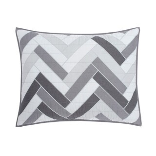 IZOD Herringbone Sham (2 options available)