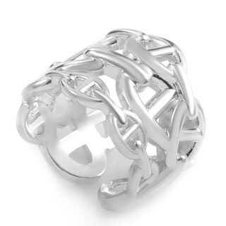Hermes Chaine dAncre Cluster Band Ring H1018S