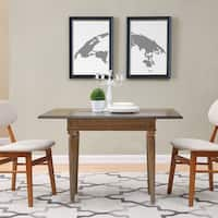 Harper Blvd Lindencrest Burnt Oak Convertible Console to Dining Table